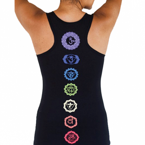 Yoga Top - chakras