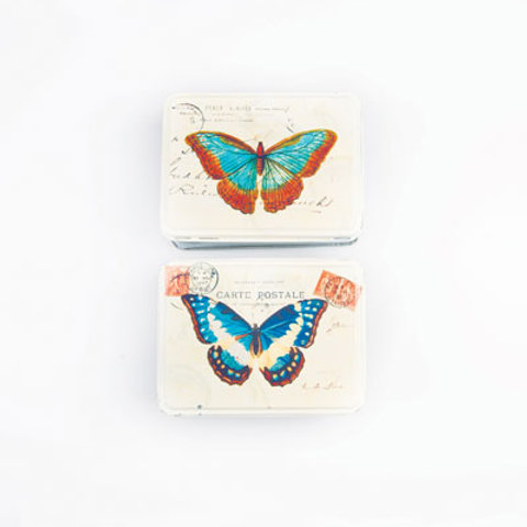Butterfly Tins