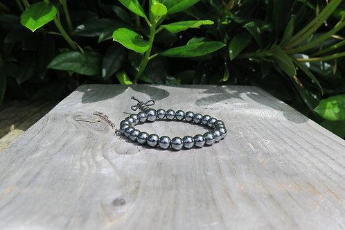 Power Bracelet - Hematite