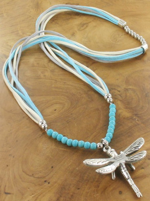 Dragonfly Bead Necklace