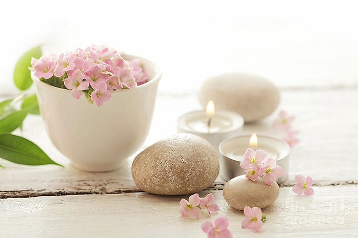 pebbles-and-flowers