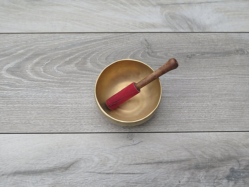 Nada Yoga singing bowl 12.5 cm incl rubbing stick