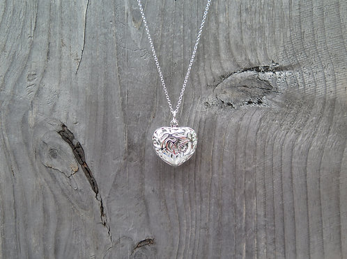 Necklace - Puffed Heart