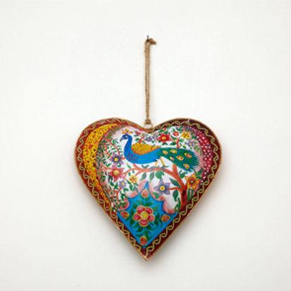 Peacock Heart