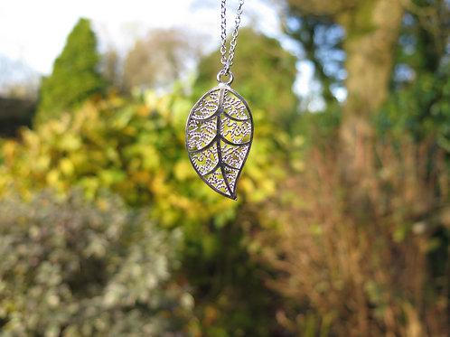 Necklace - Leaf