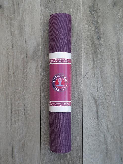 Yoga Mat - mauve HD 3mm