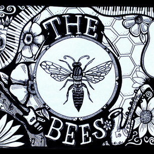 The Bees album cover design
