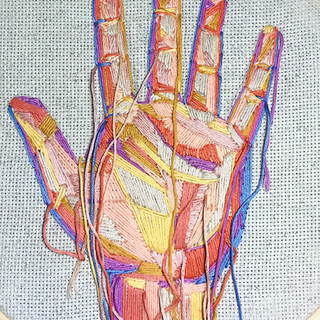 embroidery hand