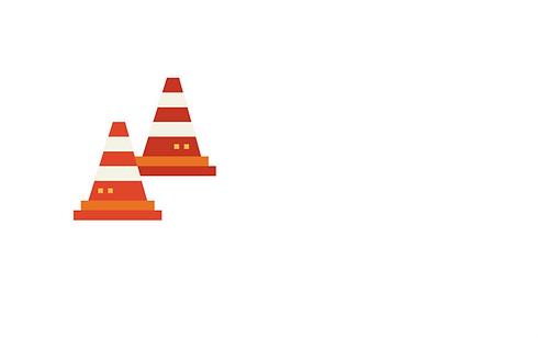 Cones signalisation orange
