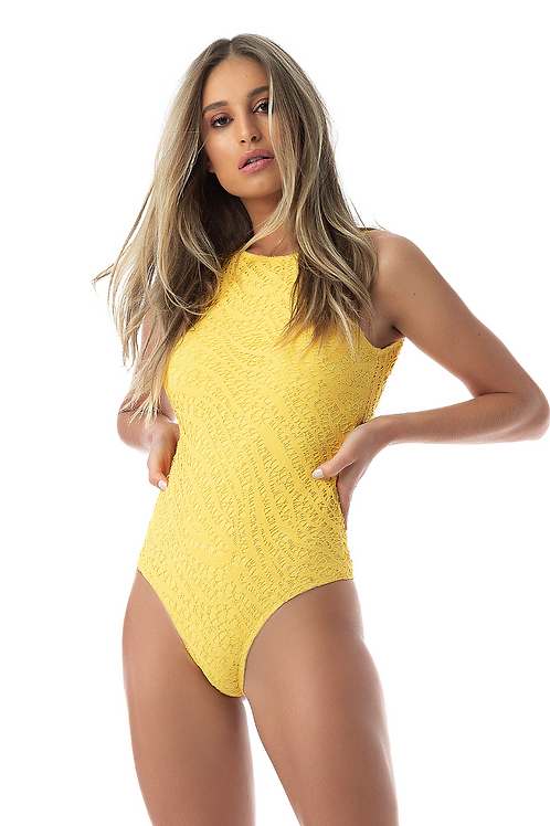 Dunas Lace One Piece Swimsuit
