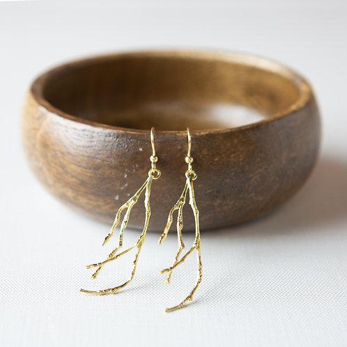 Freeform Earrings-Branch