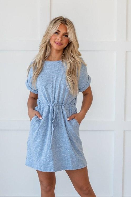 Find a Way Drawstring Dress