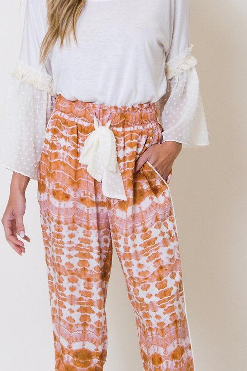 Women's Sierra High Waist Tie-Dye Pant