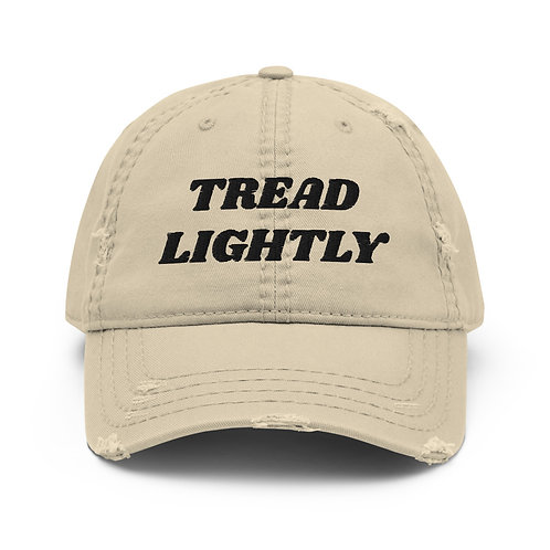Tread Lightly Distressed Hat