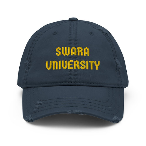 University Distressed Hat