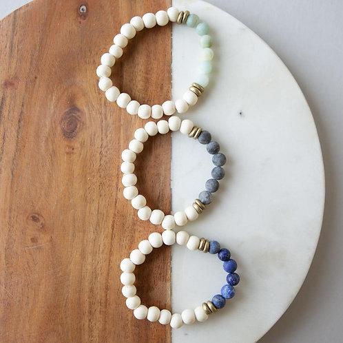 Gemstone Bracelets-8mm