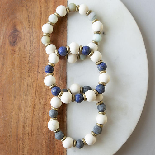 Gemstone Bracelets-10mm