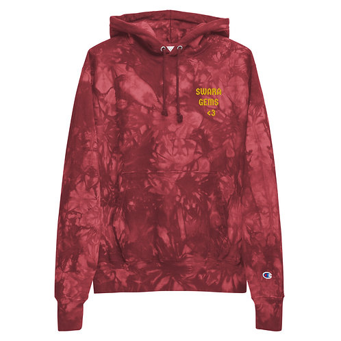 SwaraxChampion tie-dye hoodie