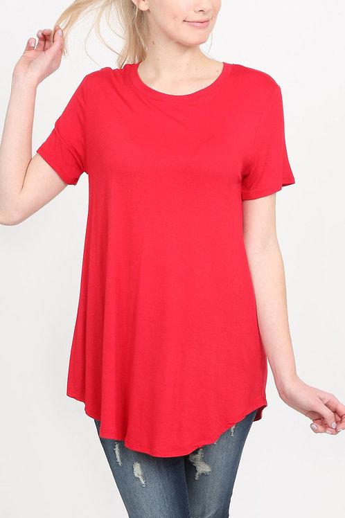 Premium Rayon Short Sleeve Top