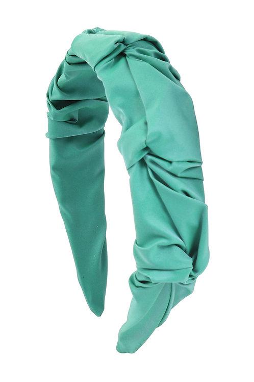 Turquoise Wrinkled Fashion Head Band