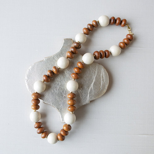 Abacus Statement Necklace