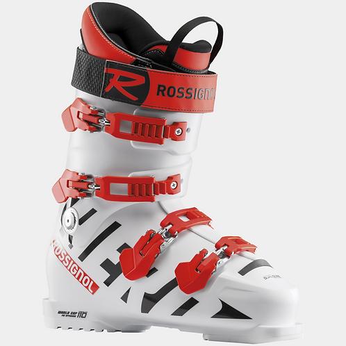 Rossignol Hero World Cup 110 Medium White, alpinstøvel unisex, STD