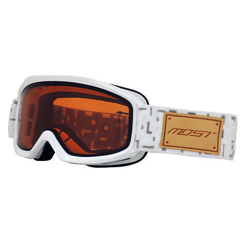 Edge White - Orange/ Clear