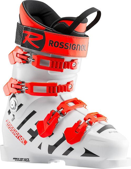 Rossignol Hero JR World Cup 110 SC 19/20, alpinstøvel junior, Hvit