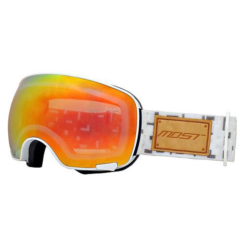 Explorer Goggles + Extra MAG lens White Spherical
