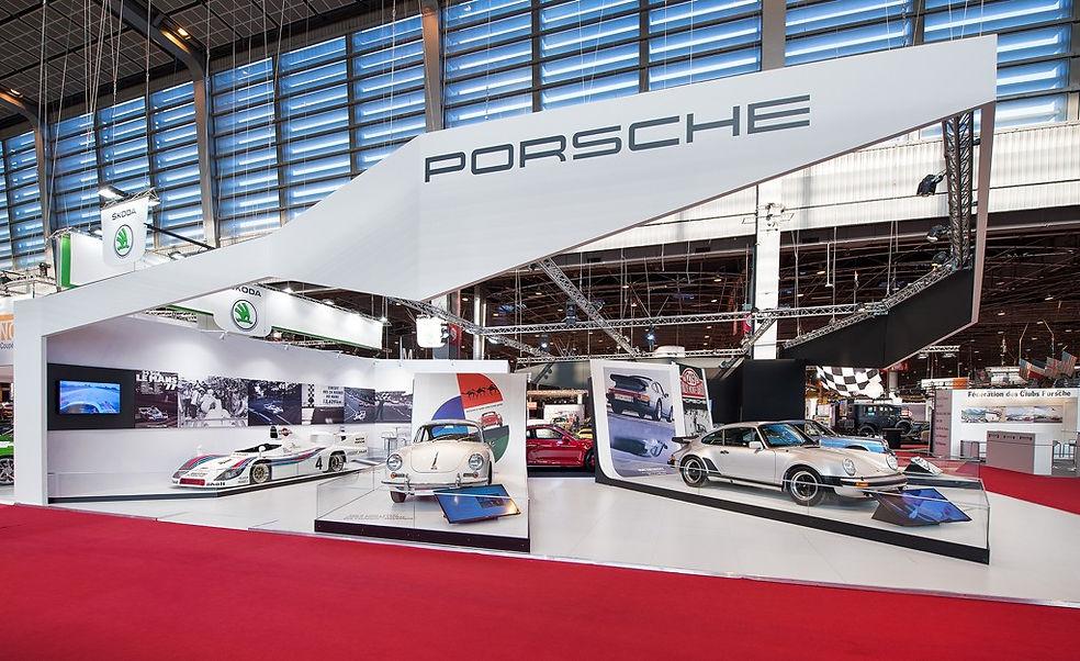 Stand Porsche - Salon de l'Auto Porte de Versailles
