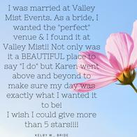 Kelby W, Bride