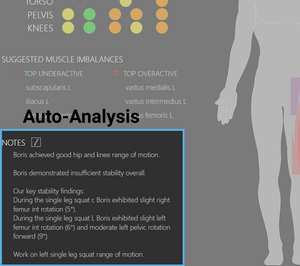 EuMotus provides markerless motion capture for physical therapy clinics to help improve patient health outcomes, and clinic business results.