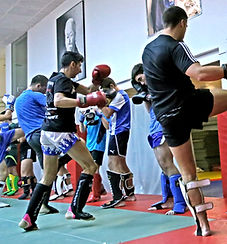 Kick boxing, boxeo, club