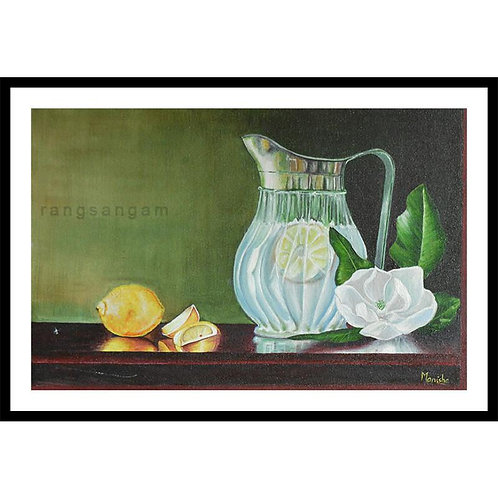 Lemonade | Oil on Canvas