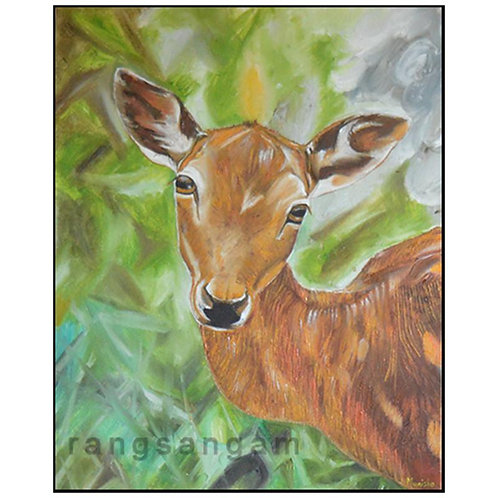 Oh Deer | Oil on Canvas