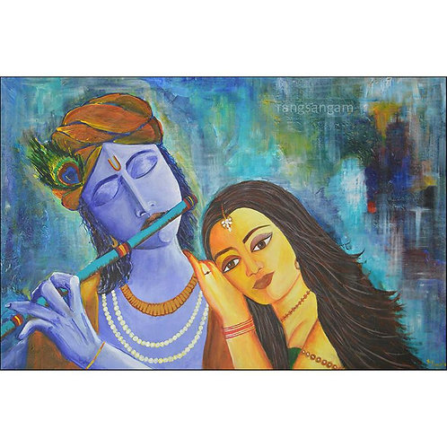 Prem-Dhun | Acrylic on Canvas