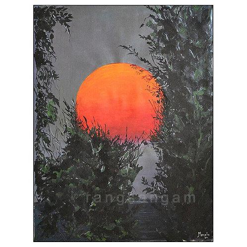 Suryodaya | Acrylic on Canvas