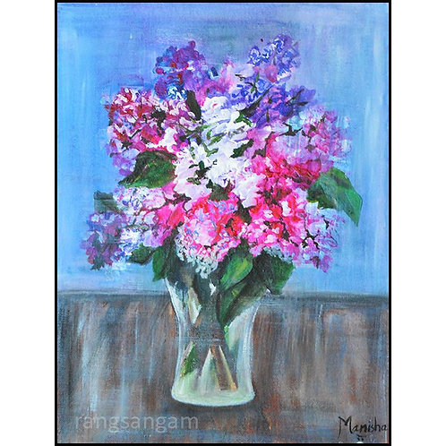 Full Bloom | Acrylic on Canvas