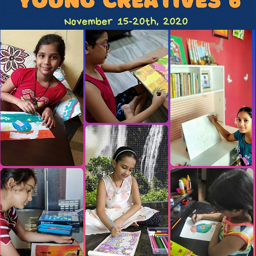 Young Creatives 6 - Online Art Exhibition