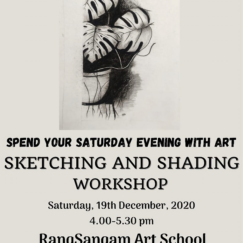 Pencil Sketching & Shading Workshop