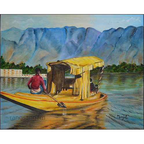 Shikaara | Oil on Canvas