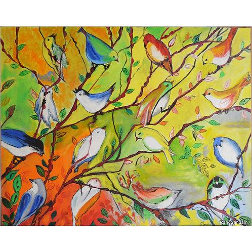 Kalrav | Oil on Canvas