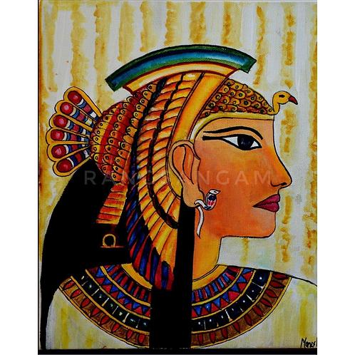 Cleopatra | Acrylic on Canvas