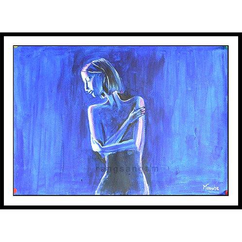 Azure | Acrylic on Paper