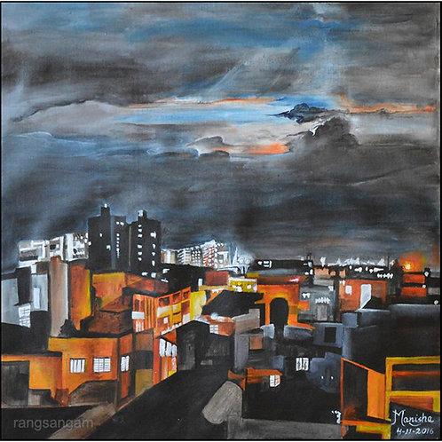 Bengaluru-3   Acrylic on Canvas