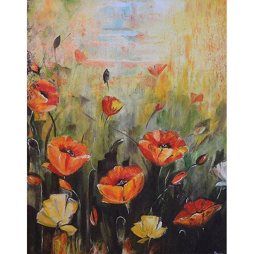 Gulistaan   Oil on Canvas