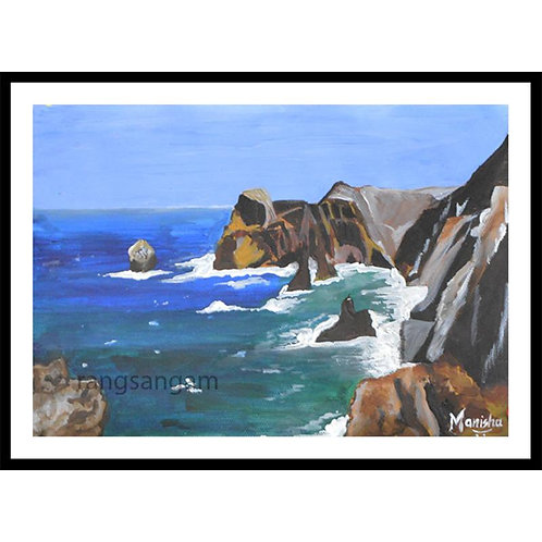 Seashore | Acrylic on Paper