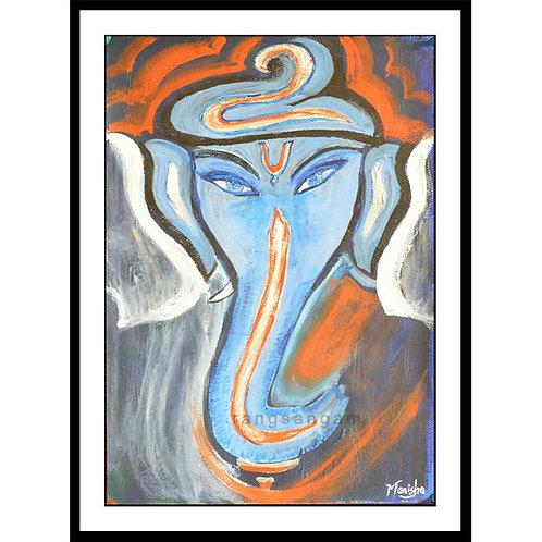 Ekdanta | Acrylic on Paper