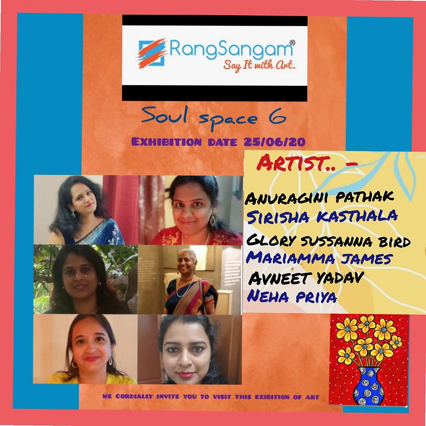 Online Art Exhibition - Soul Space 6