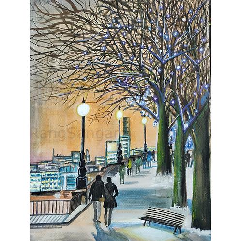 Christmas Eve | Acrylic on Paper
